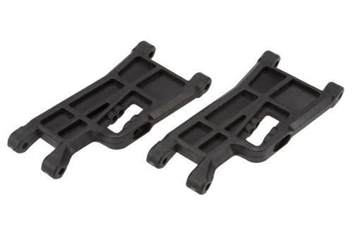 Traxxas Front Suspension Arms - 2 Count, Black
