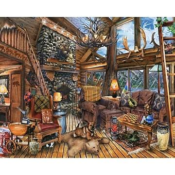 Springbok The Hunting Lodge Jigsaw Puzzle - 1000pcs