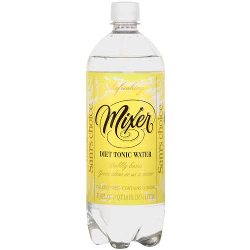 Great Value Diet Tonic Water - 33.8oz