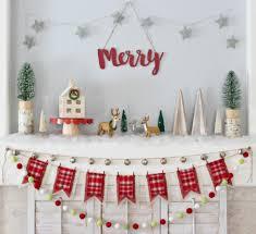 Pea Ridge Christmas Tree Farm by Merry Woodland Christmas Mantel Organize And Decorate Everything