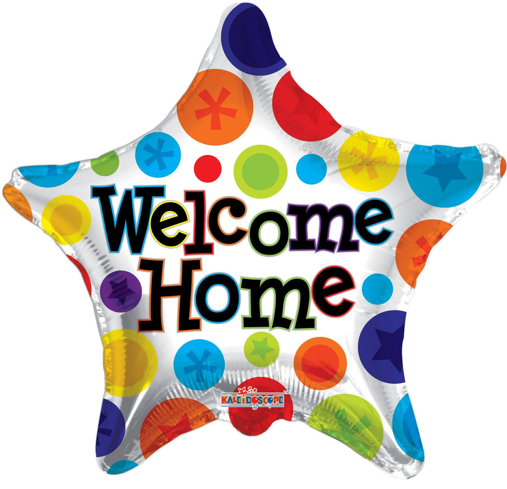 "18"" Welcome Home Stars Foil Balloon"