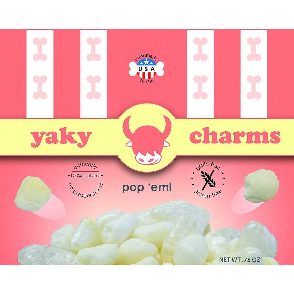 Yaky Charms Doggy Popcorn