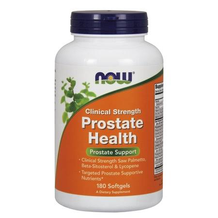 Now Foods Clinical Strength Prostate Health Softgels - x180