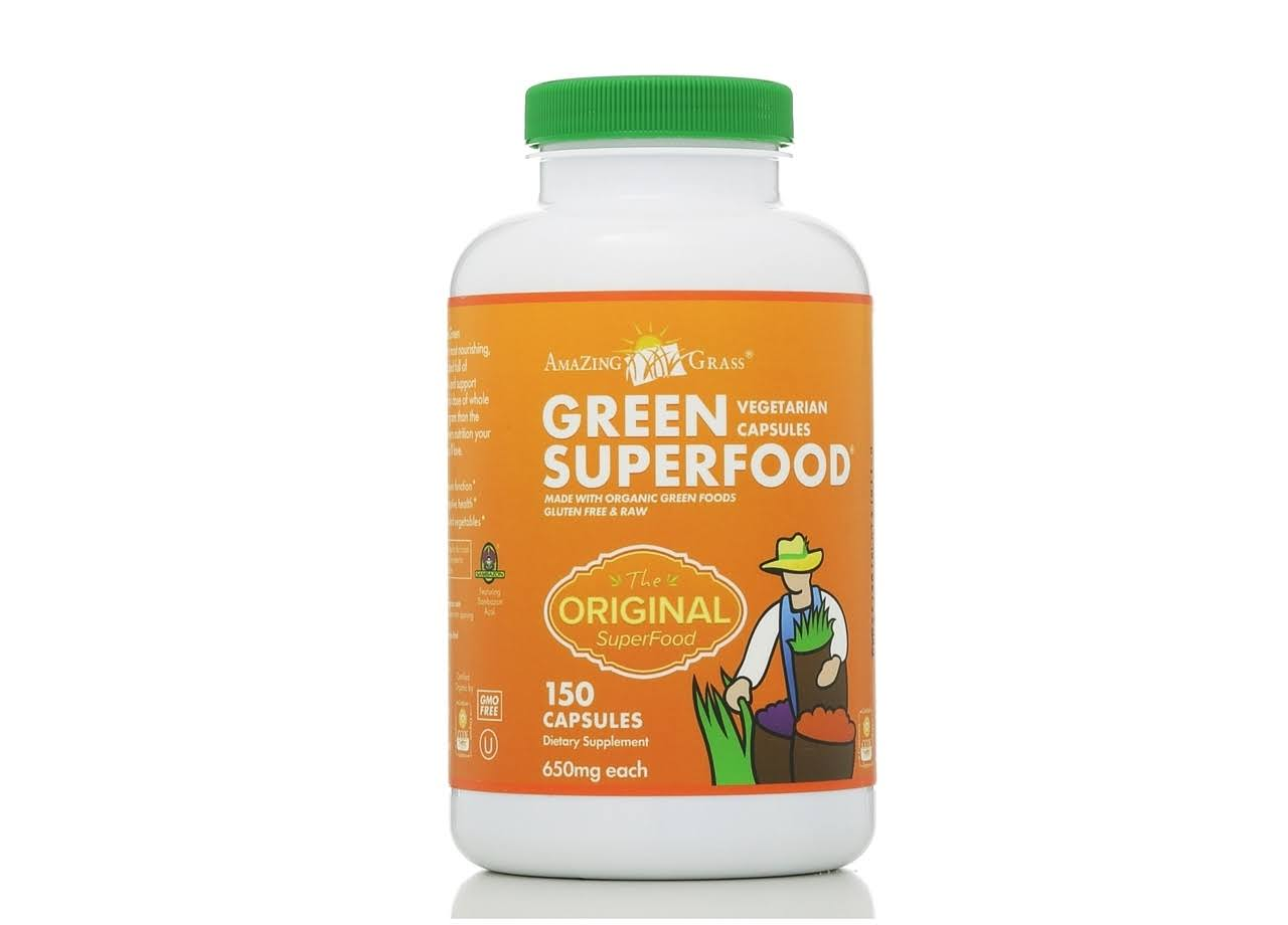 Amazing Grass Green Super Food - 150 Capsules