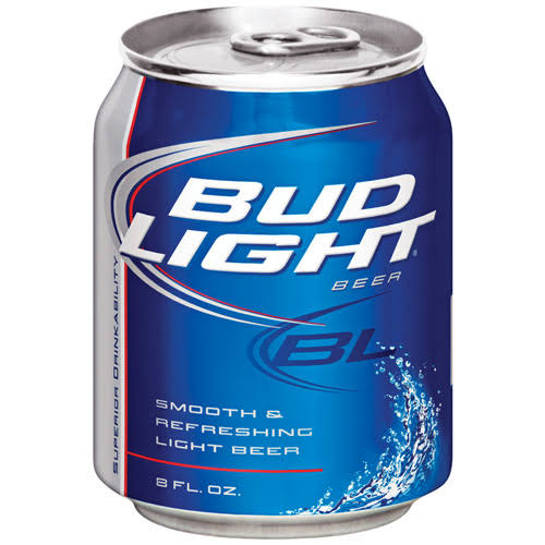 Bud Light Beer - 8 oz