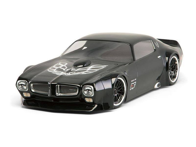 Protoform 1971 Pontiac Firebird Trans Am VTA Clear Body