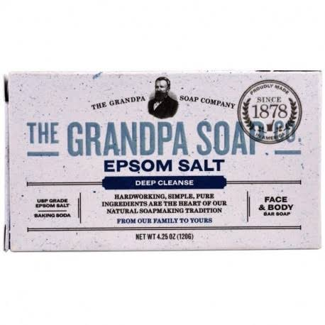 Grandpa Soap Bar Soap - Epsom Salt - 4.25 oz
