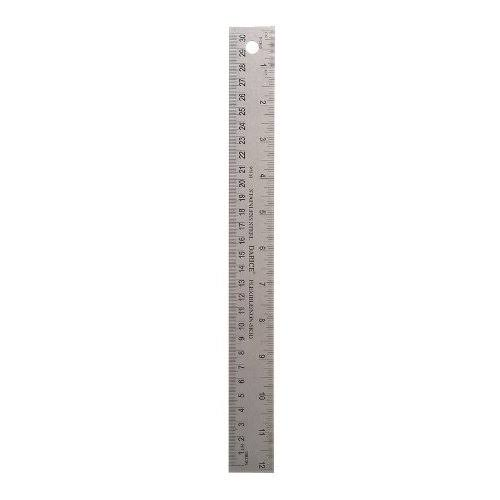 Darice 97303 12-Inch Stainless Steel Ruler