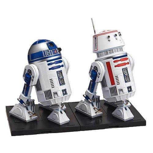Bandai Star Wars R2-D2 and R5-D4 Model Kit Figure - 1/12 Scale