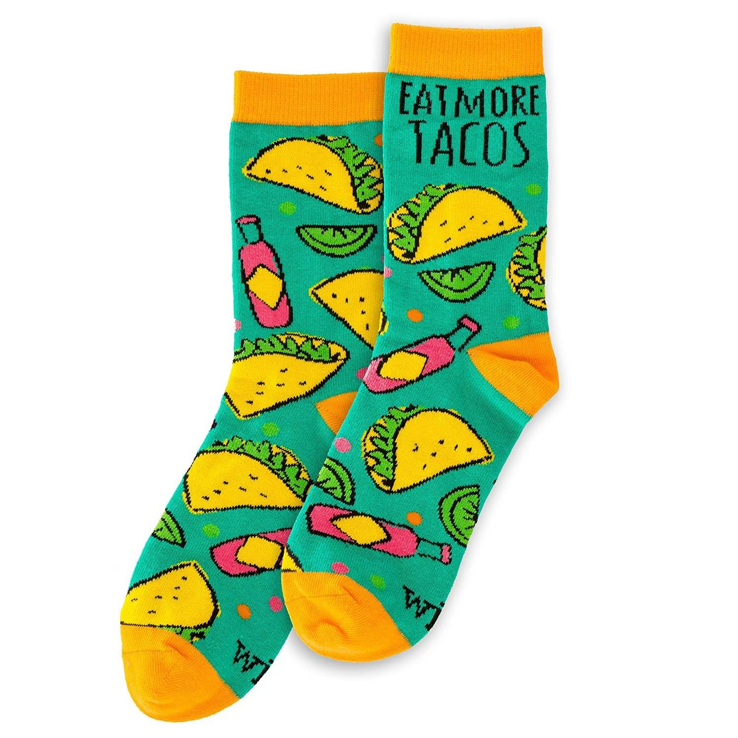 wit Gifts Socks, Tacos