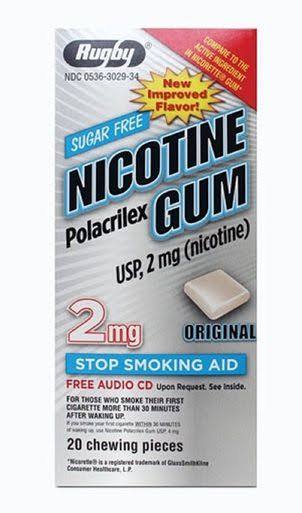 Rugby Nicotine Gum - 20ct