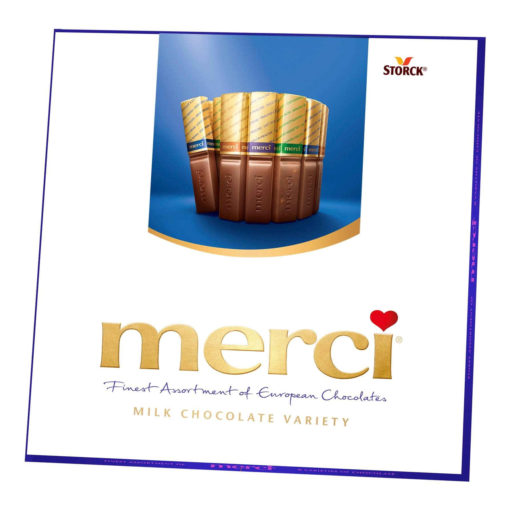 Merci Finest Assortment of European Chocolates - 16ct