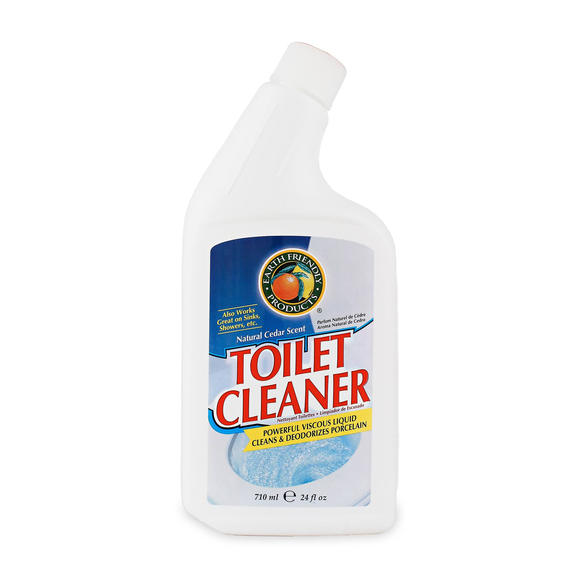 Earth Friendly Toilet Cleaner Bottle - 24oz