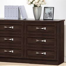 Hemnes 6 Drawer Dresser Grey Brown by Dressers Bedroom Furniture The Home Depot