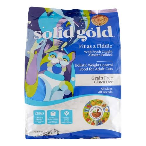 Solid Gold Holistic Grain-Free Dry Cat Food