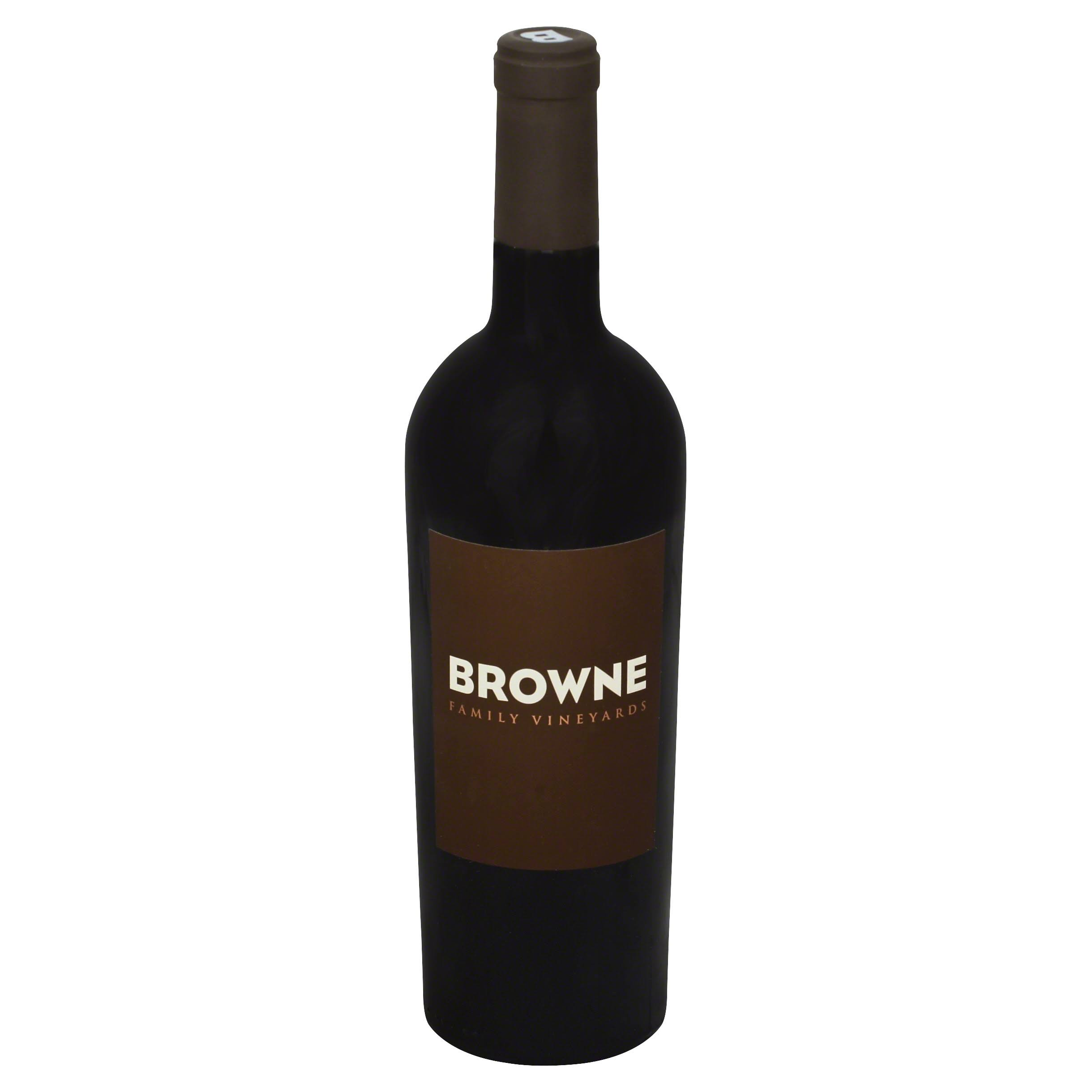 Browne Family Vineyards Cabernet Sauvignon - 2012, Columbia Valley Washington