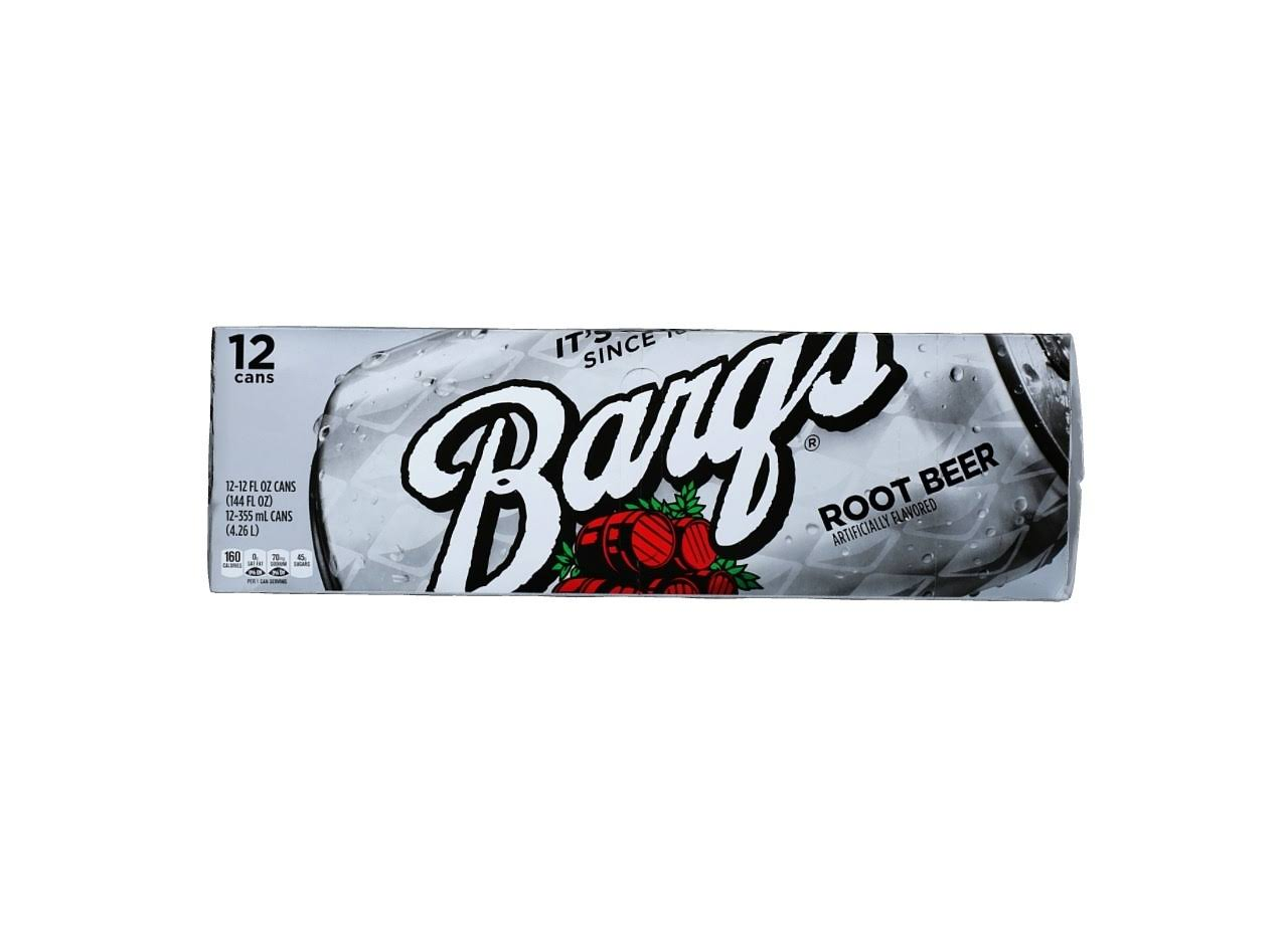 Barq's Root Beer - 12 Cans