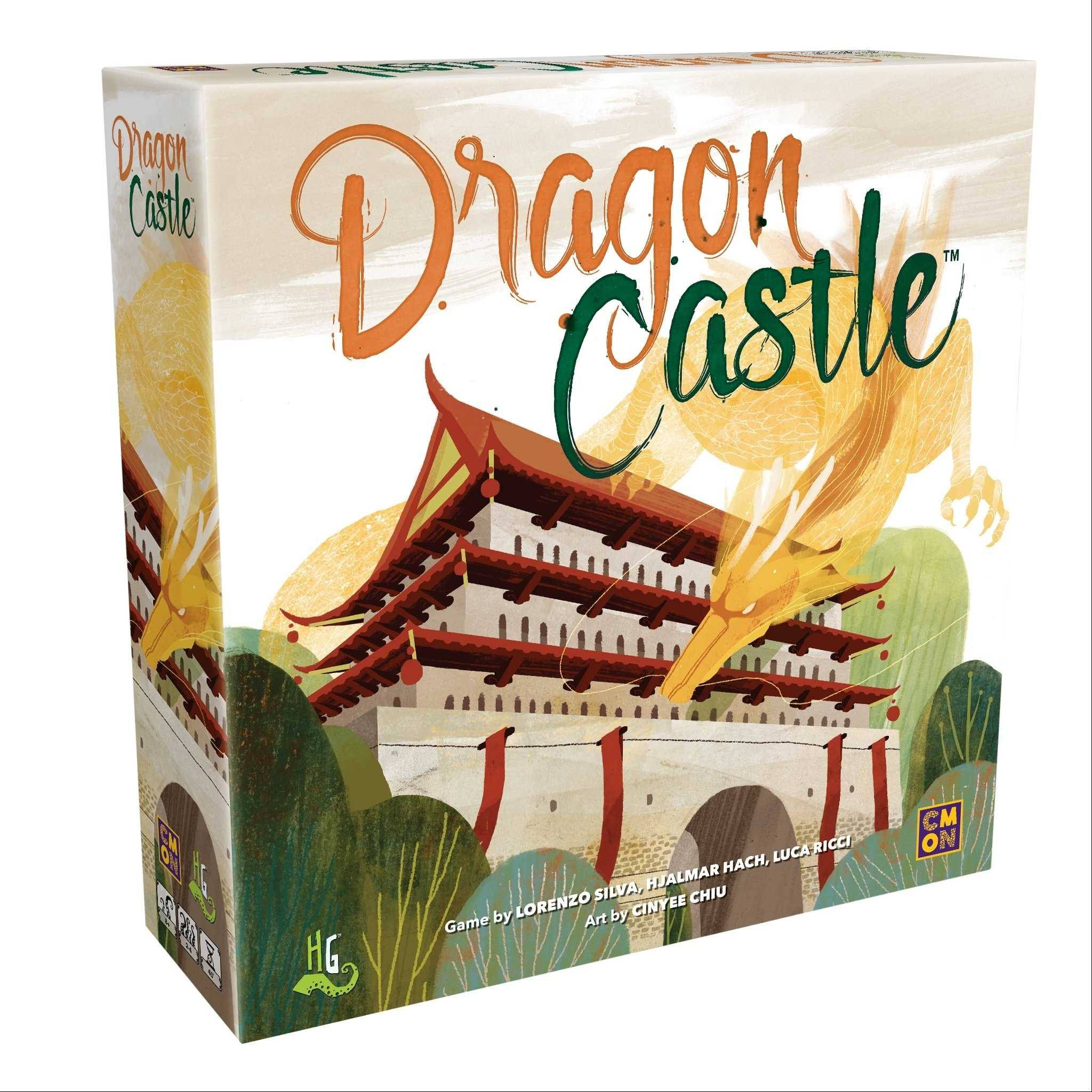 Good Look Gamer Dragon Castle Board Game