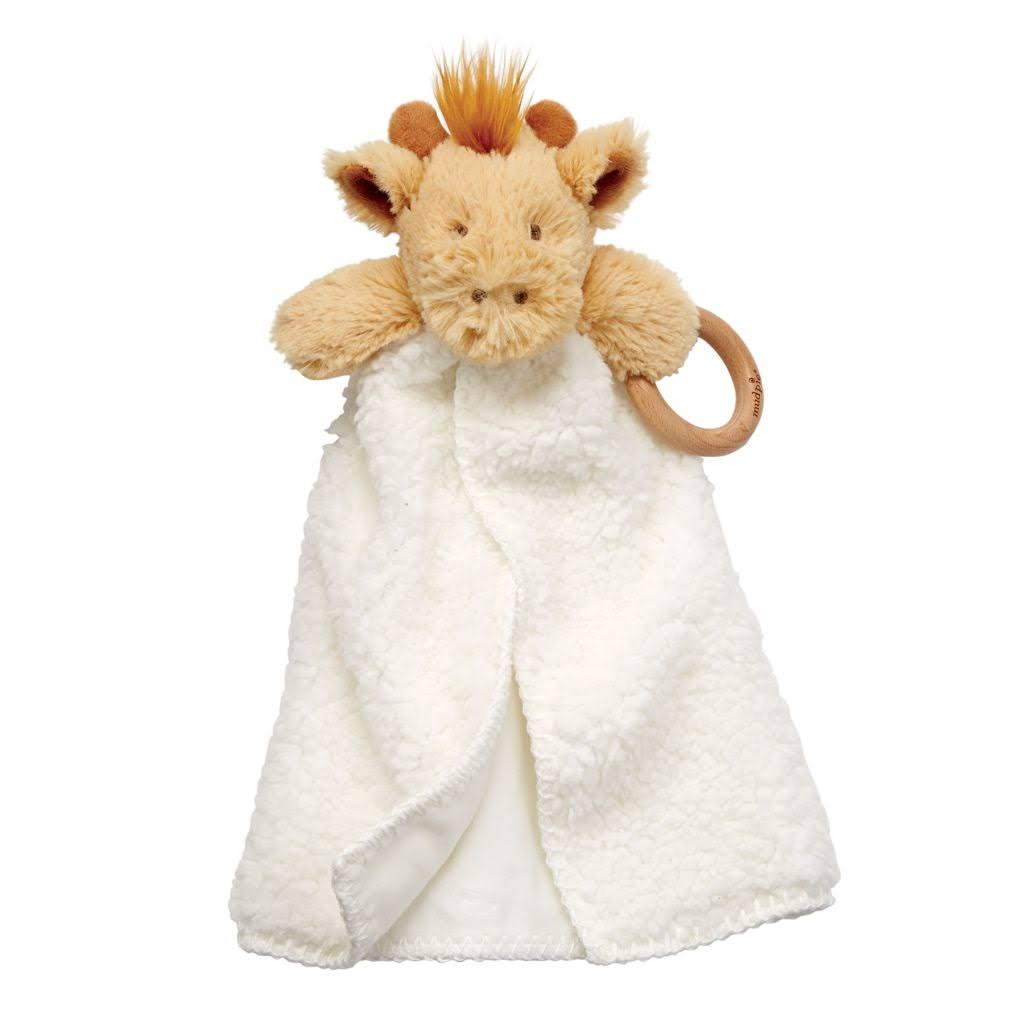 Mud Pie Giraffe Sherpa Safari Woobie, Cream