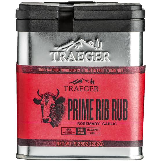 Traeger Prime Rib Rub - Rosemary and Garlic, 9.25oz