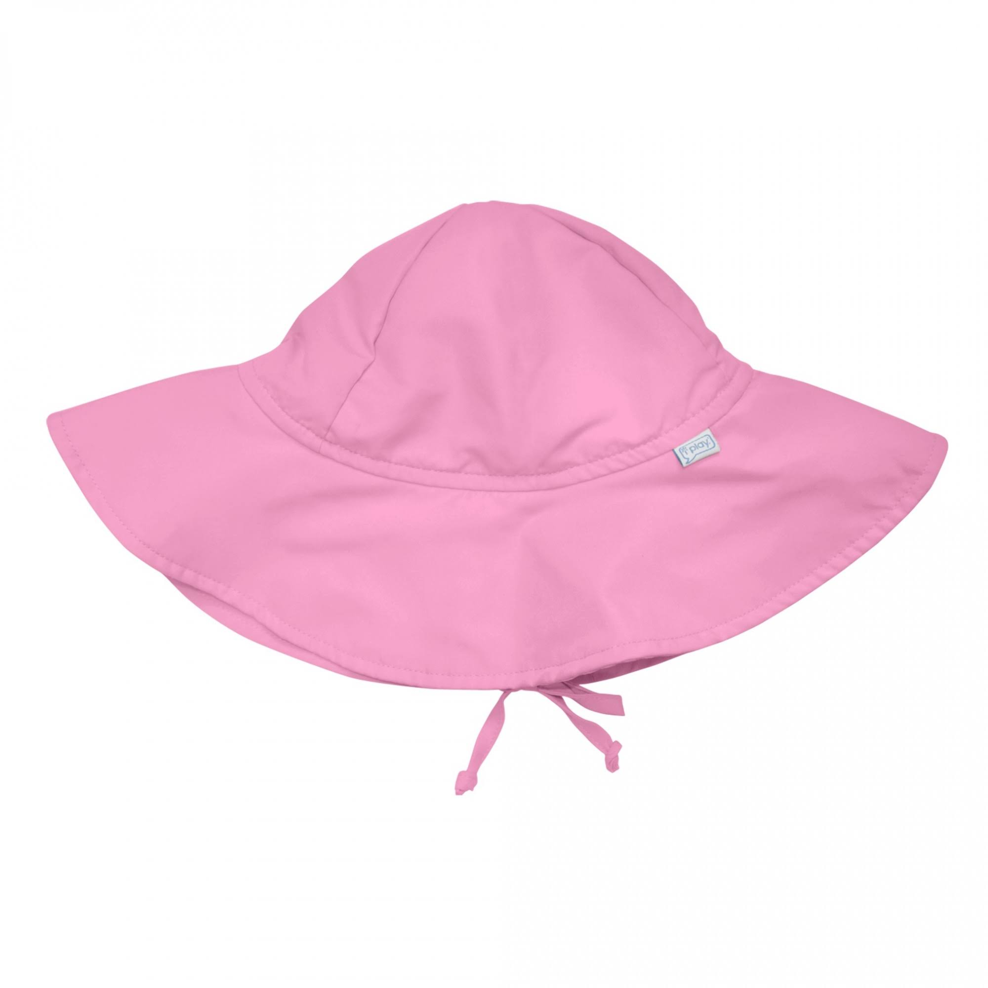 I Play Toddler Brim Sun Protection Hat - Light Pink, 2T-4T