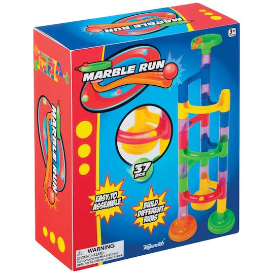 Toysmith Marble Run Playset - 37pcs