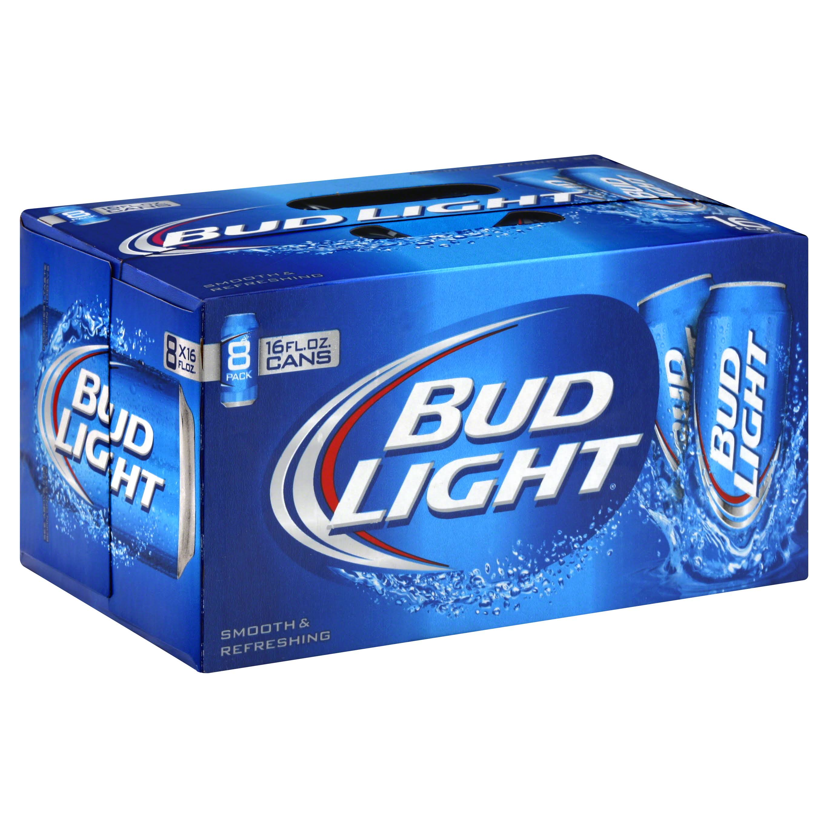 Bud Light Beer - 8 Cans