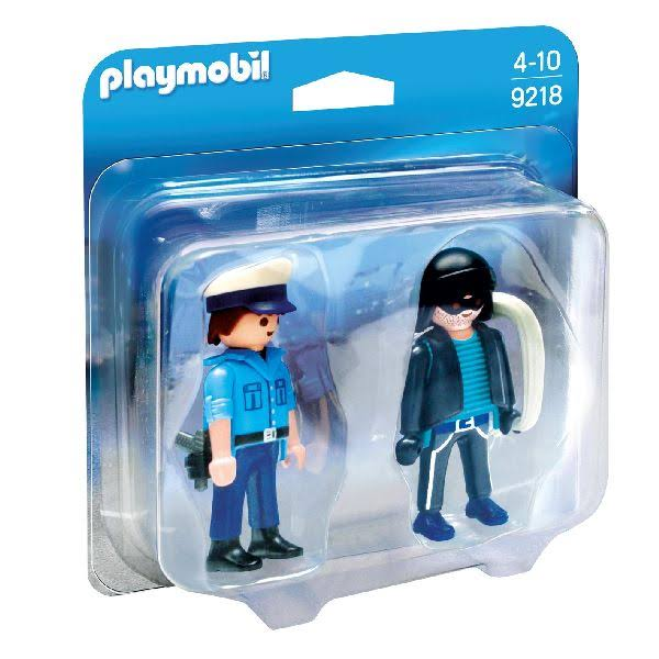 Playmobil Duo Pack Cop and Robber Figure