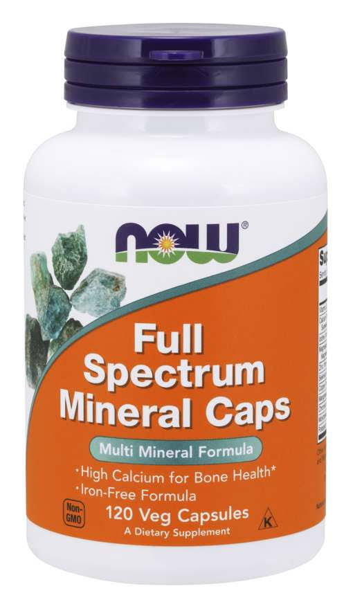 Now Foods Full Spectrum Minerals Caps - 120 Capsules