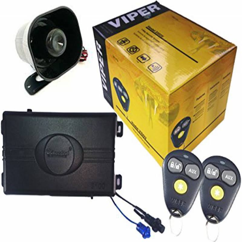 Viper 3100V 1 Way Car Alarm Security System