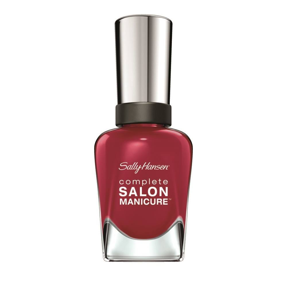 Sally Hansen Complete Salon Manicure Nail Polish - Red It Online 226, 14.7ml