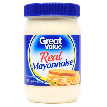 Great Value Real Mayonnaise - 15oz