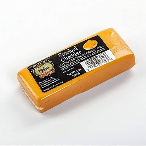Troyer Cheese Smoked Cheddar Cheese 8oz 2pk