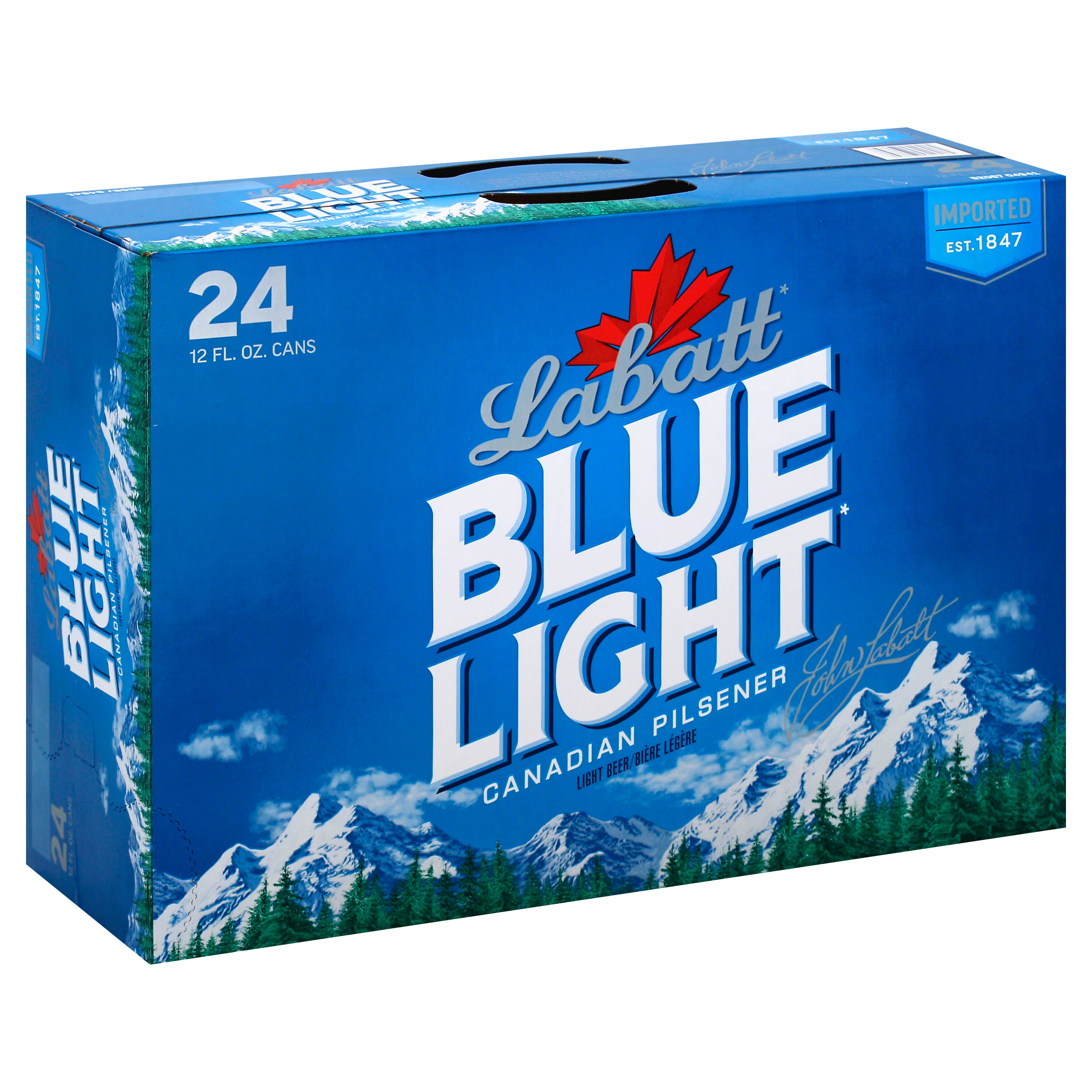 Labatt Blue Light Beer Cans