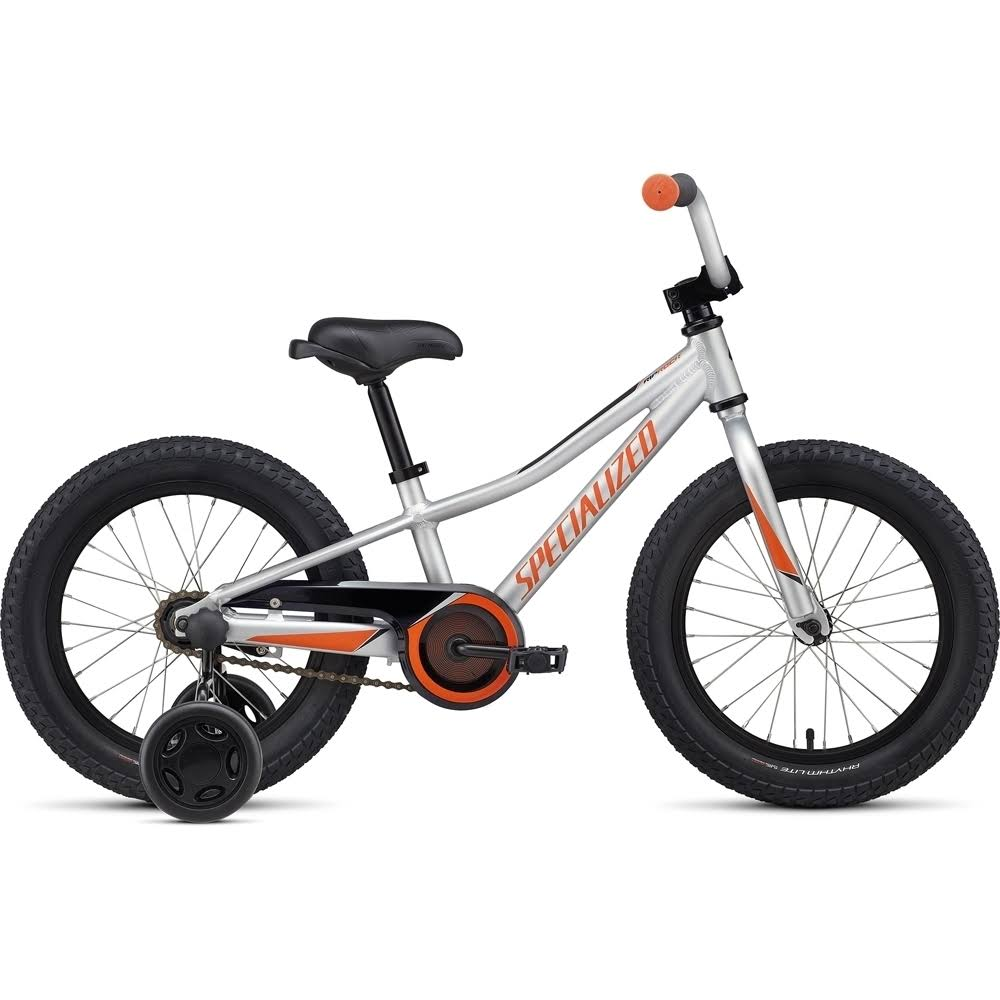 Specialized Riprock 16 Coaster - Light Silver/Moto Orange/Black