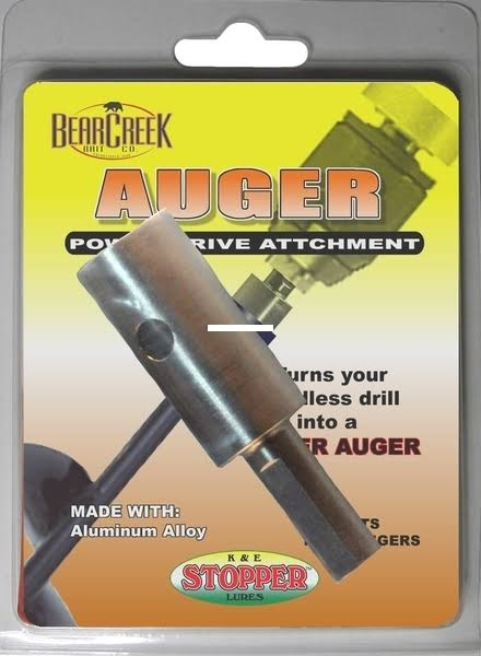 Bear Creek Auger Power Drive Adapter BC-AA-2