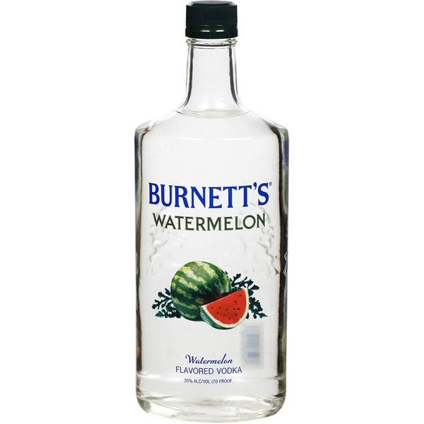 Burnett's Watermelon Vodka - 750ml