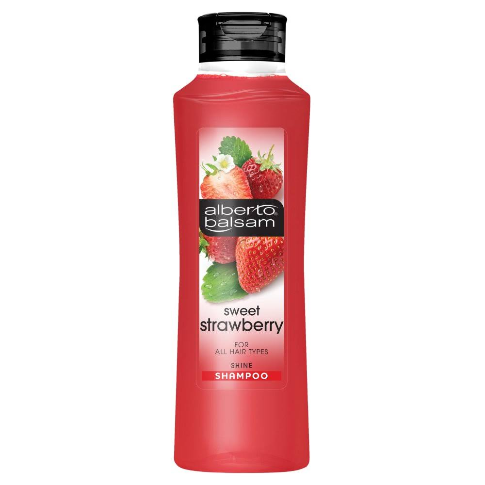 Alberto Balsam Shampoo - Sweet Strawberry, 350ml