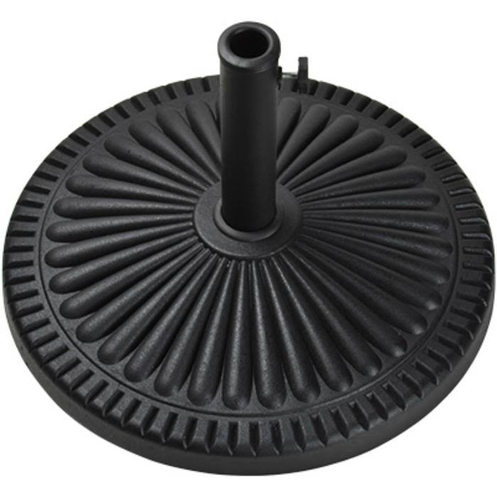 Bond Company 69570 Four Seasons Courtyard Umbrella Base - Black