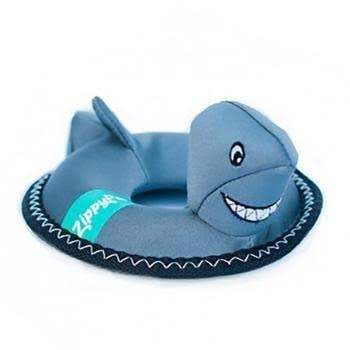 ZippyPaws Floaterz - Shark Dog Toy