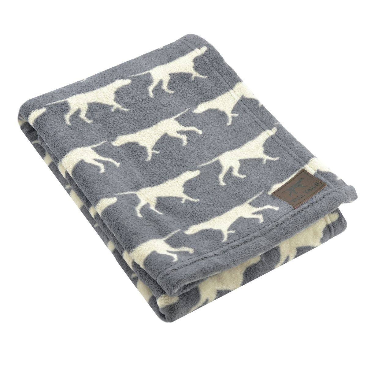 Tall Tails Charcoal Pet Fleece Blanket Large