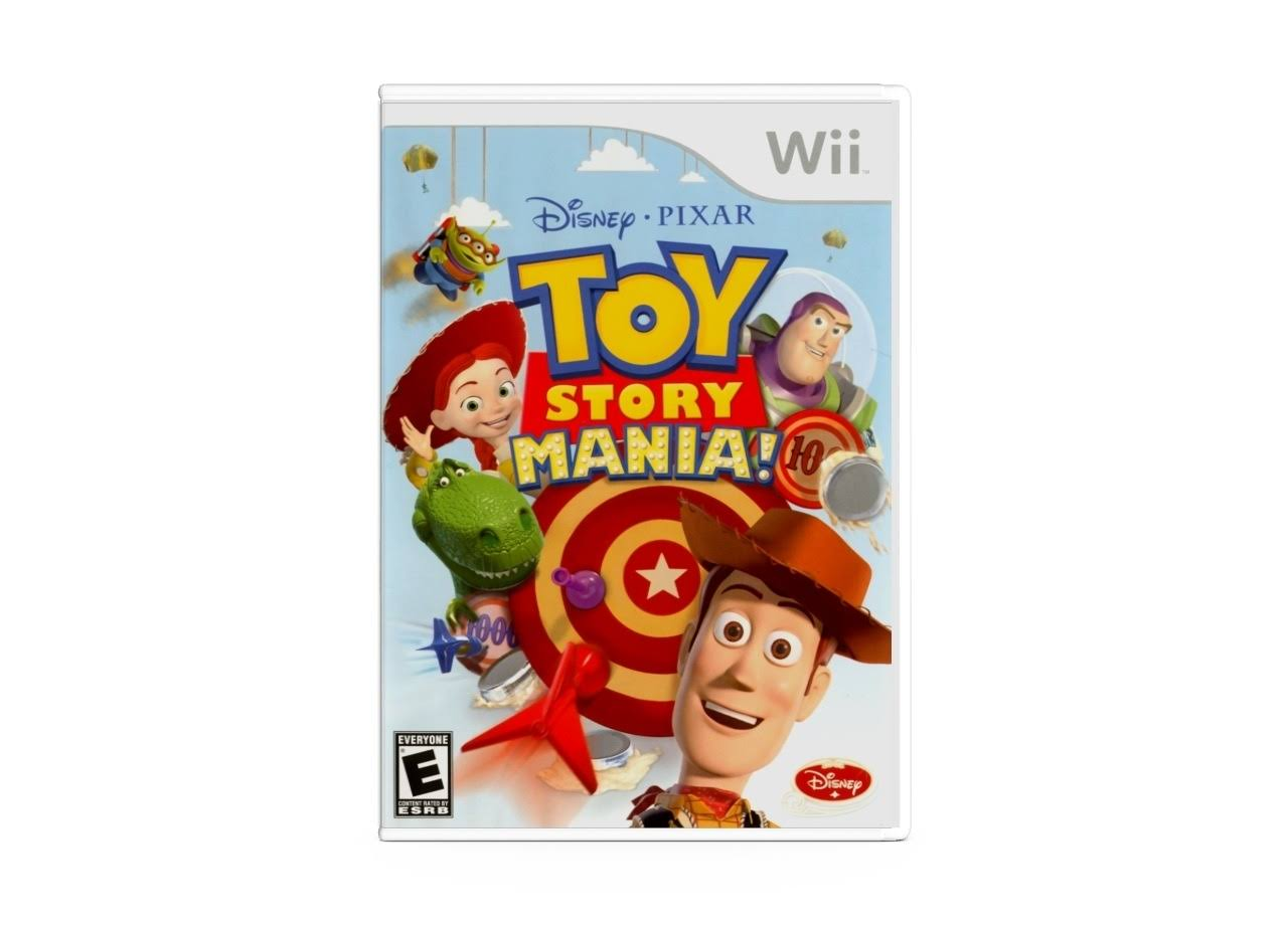Disney Toy Story Mania! [Wii Game]