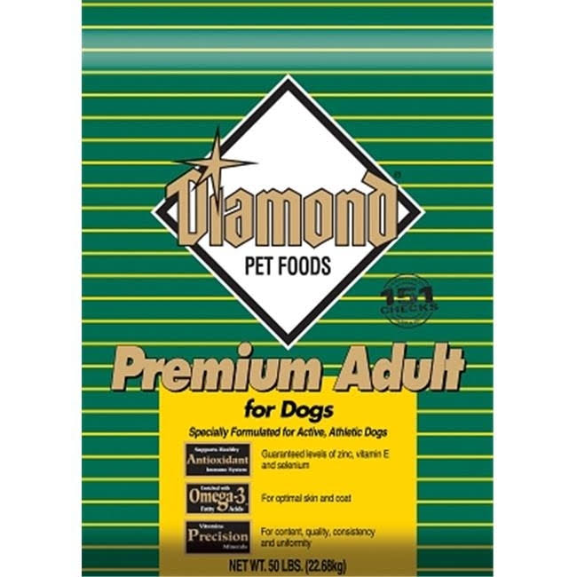 Diamond Premium Adult Dry Dog Food - 50lbs, Chicken