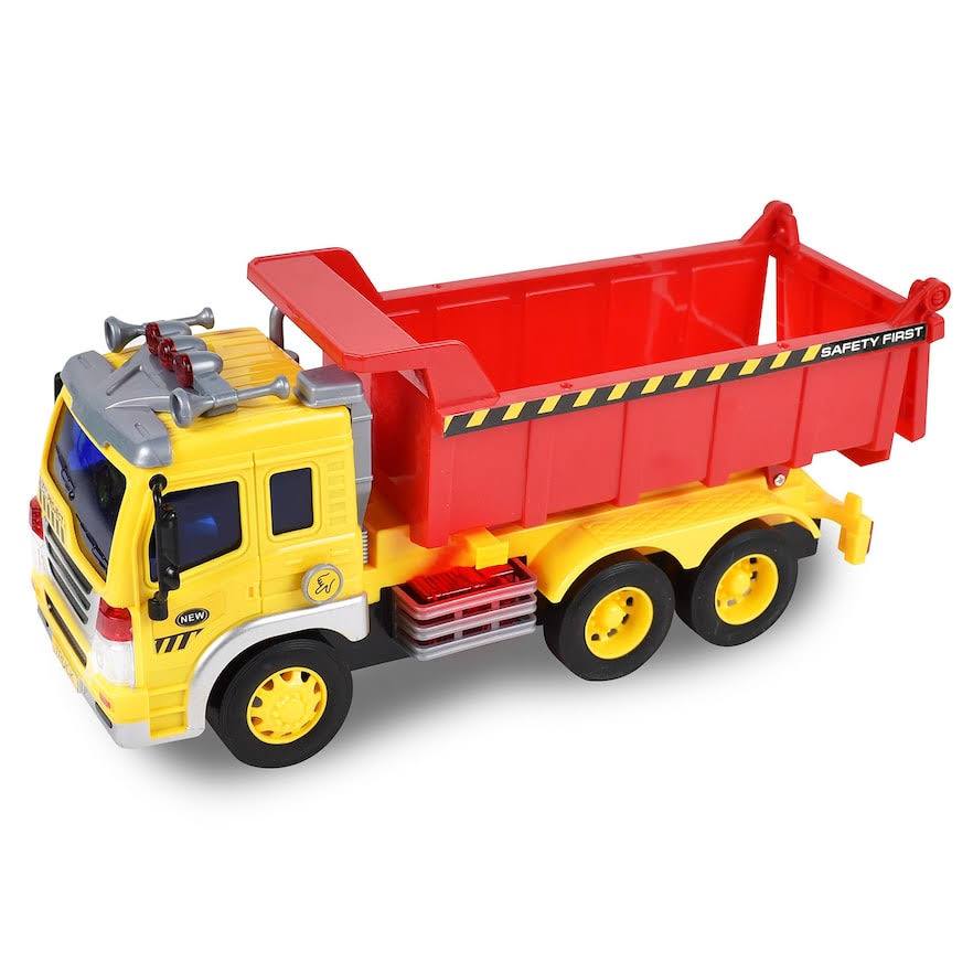 Maxx Action Construction Dump Truck Toy