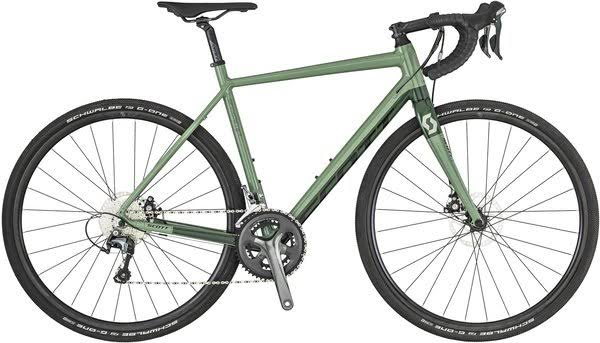 Scott Speedster Gravel 30 Road Bike - Green