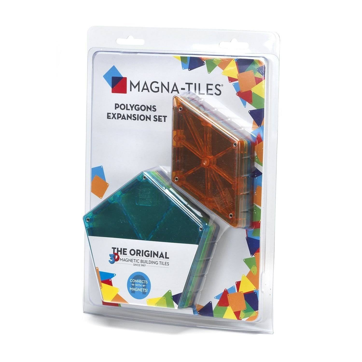 Magna Tiles 8 Piece Polygons Expansion Set