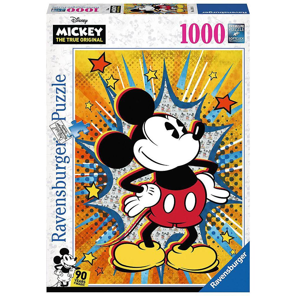 Ravensburger 1000 Piece Puzzle - Retro Mickey Mouse