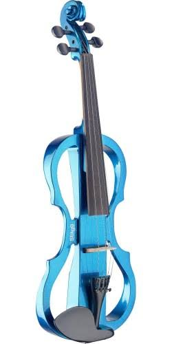 Stagg EVN X-4/4 Series Electric Violin Outfit Metallic Blue