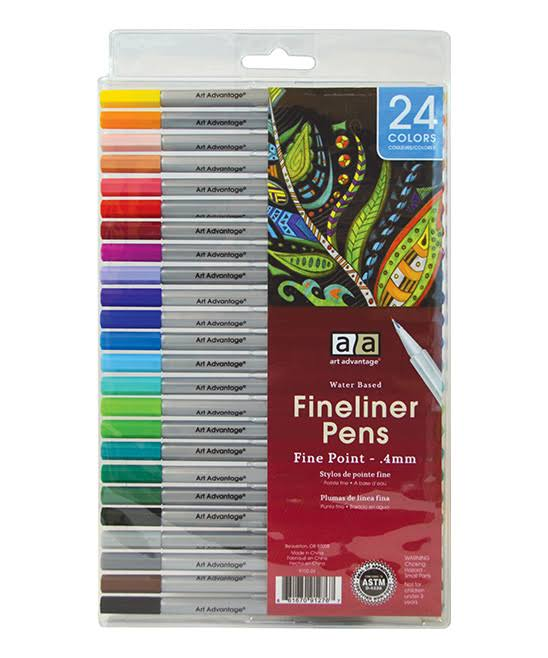 Art Advantage Markers - Fineliner Marker Set