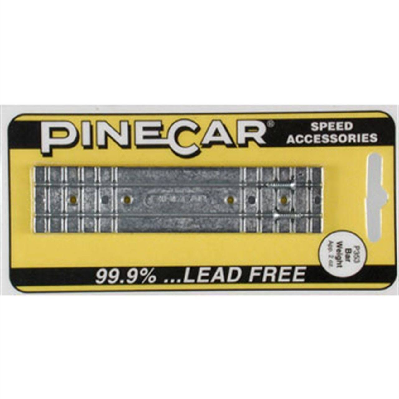 Pinecar P353 Bar Weight - 2oz